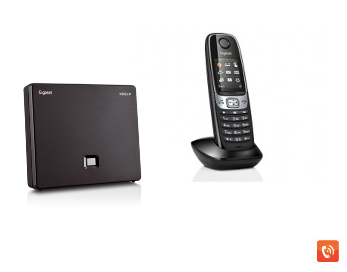 Gigaset N300A IP + Gigaset C620H